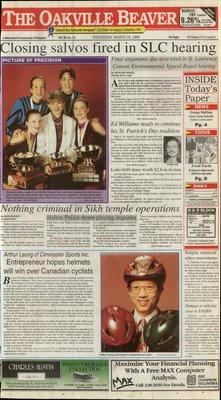 Oakville Beaver, 16 Mar 1994