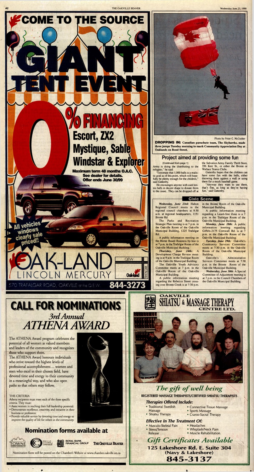 Oakville Beaver, 23 Jun 1999