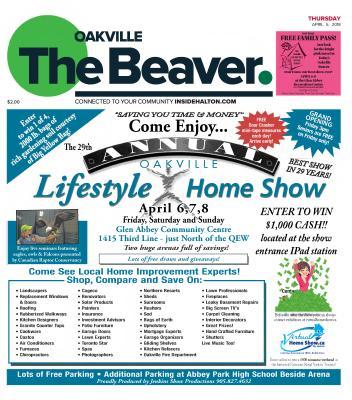 Oakville Beaver, 5 Apr 2018