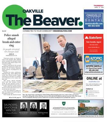 Oakville Beaver, 12 Apr 2018
