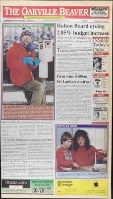 Oakville Beaver, 17 Feb 1993