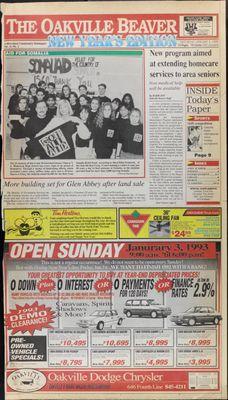 Oakville Beaver, 2 Jan 1993
