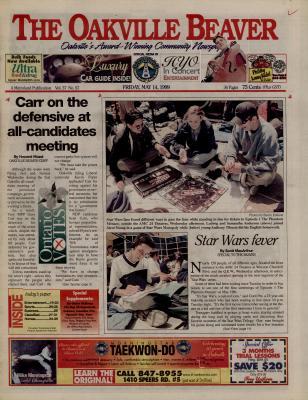 Oakville Beaver, 14 May 1999