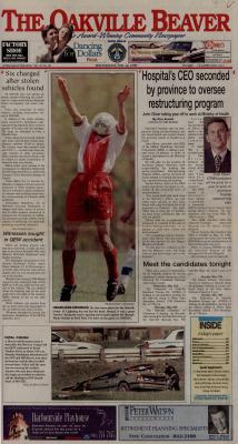 Oakville Beaver, 12 May 1999