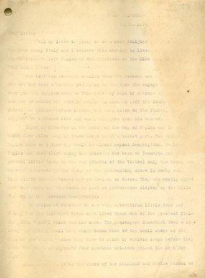 Allan Davidson Letter, April 20, 1918