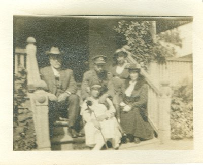 Photograph of Allan Davidson and Family
