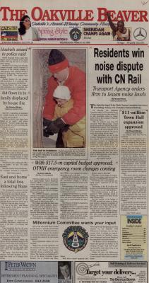 Oakville Beaver, 10 Mar 1999