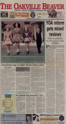 Oakville Beaver, 17 Mar 1999
