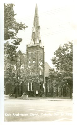 Oakville Knox Presbyterian Church Postcard