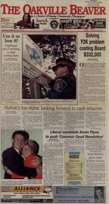 Oakville Beaver, 31 Mar 1999