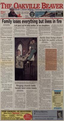 Oakville Beaver, 3 Mar 1999