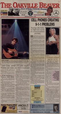 Oakville Beaver, 7 Apr 1999