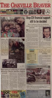 Oakville Beaver, 21 Apr 1999