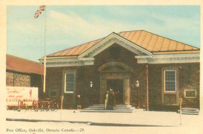 Oakville Post office Postcard