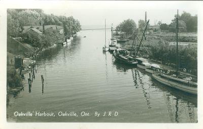 Oakville Harbour Postcard