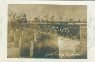 G. T. R. Bridge Postcard