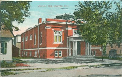 Masonic Hall Postcard