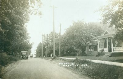 Oakville Second Street Postcard