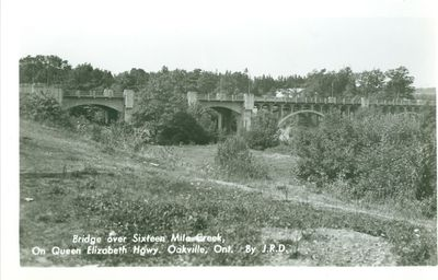 Sixteen Mile Creek Bridge Postcard