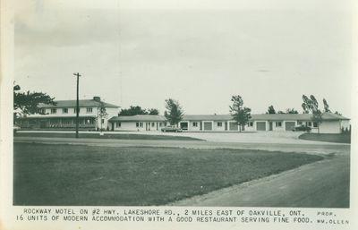 Rockway Motel Postcard