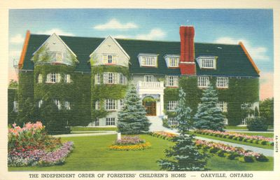The Independent Order Of Foresters' Children's Home Postcard