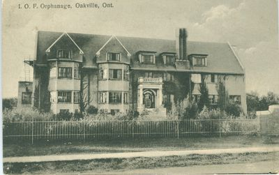The Independent Order Of Foresters' Orphanage Postcard