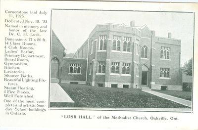 Lusk Hall Postcard