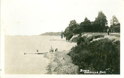 Oakville Beach Postcard