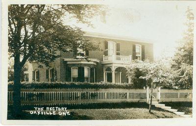 Oakville Rectory Postcard