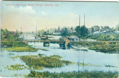 View From Radial Bridge Postcard