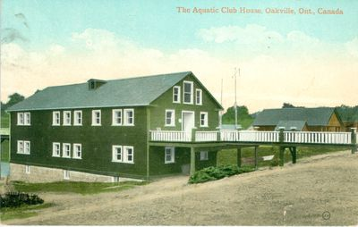 Aquatic Club House Postcard