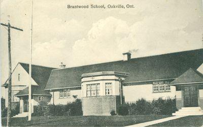 Brantwood School Postcard