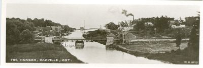 Oakville Harbor Bookmark Postcard