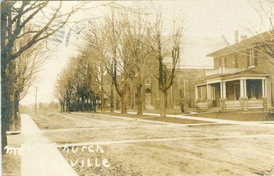 Oakville Methodist Church Postcard