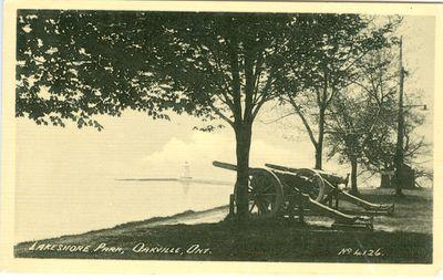 Lakeshore Park Postcard