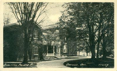 Oakville Private Residence Postcard
