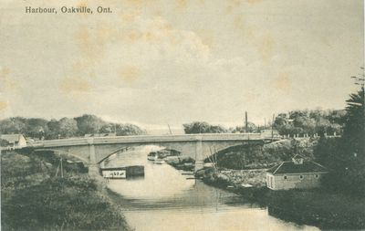 Oakville Harbour Postcard