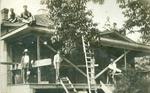Oakville House Building Postcard