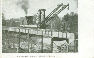 New Electric Railway (Radial) Bridge Postcard