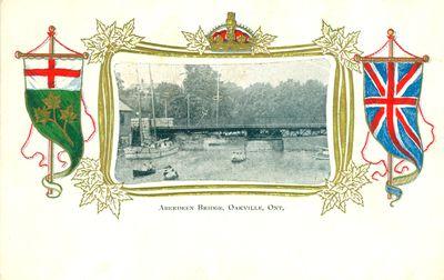 Aberdeen Bridge Postcard