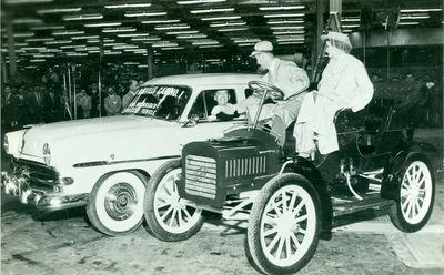 Oakville Ford Plant Postcard, 1953