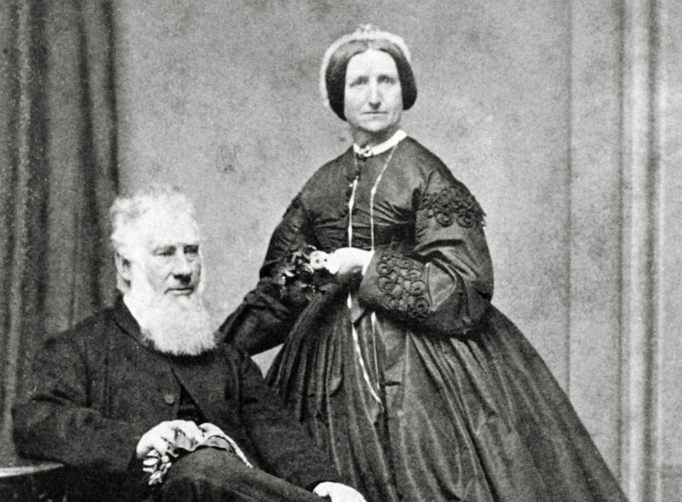 Portrait of Samuel Bealey Harrison and Mrs. Samuel Bealey Harrison (Provided by the Bronte Historical Society)