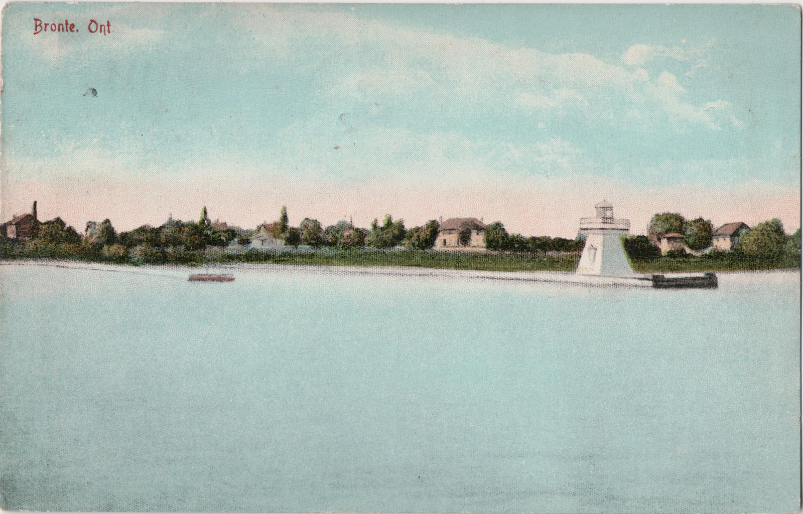 Lighthouse circa 1910, Bronte, Ont. (Provided by Bronte Historical Society)