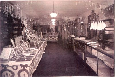 Interior of Grammell's Gents Furnishings