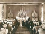 Interior of St. Andrew's During a Wedding