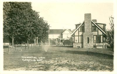 Oakville Residential View Postcard