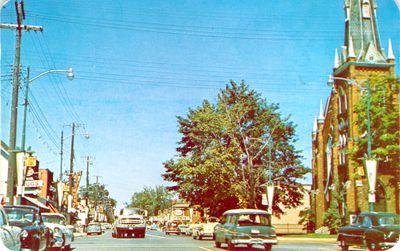 Oakville Colborne Street Postcard