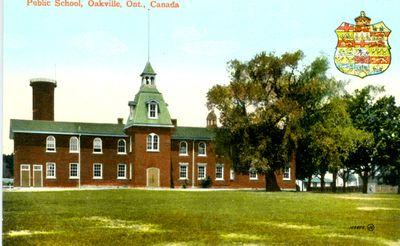 Oakville Public School Postcard