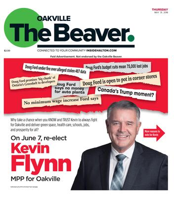 Oakville Beaver, 31 May 2018