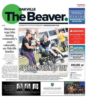 Oakville Beaver, 14 Jun 2018
